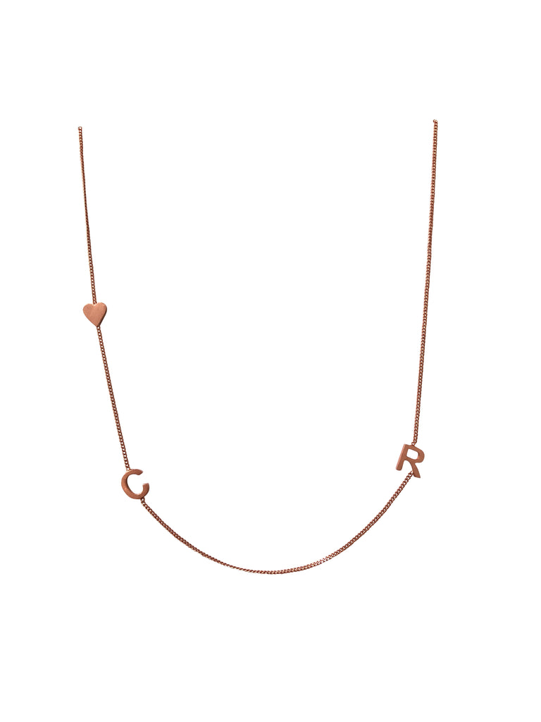 "20"" Rose gold plated necklace"