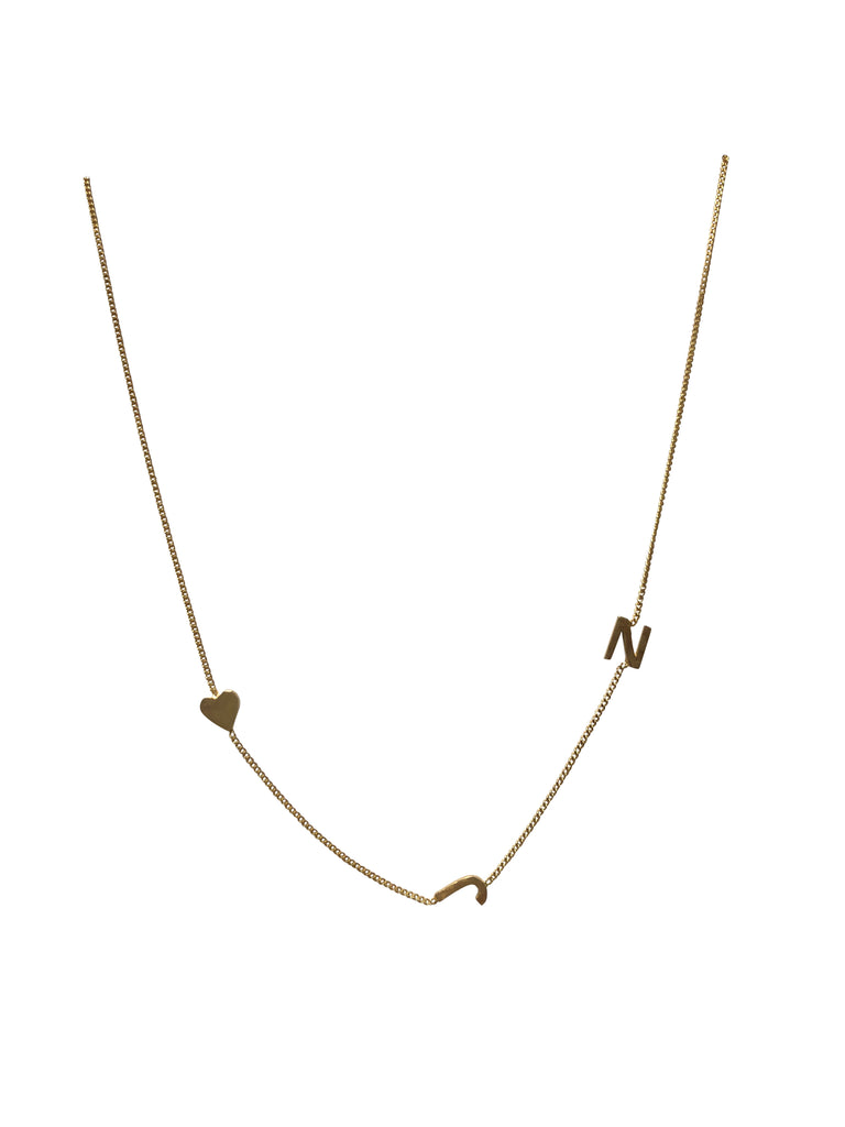 "18"" Gold plated necklace"