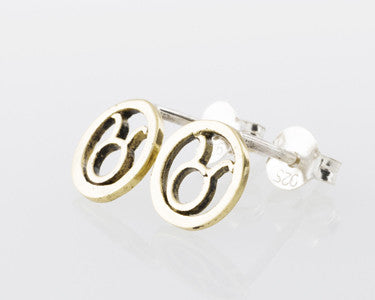 TAURUS EARRINGS - SILVER