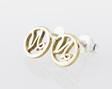 CAPRICORN EARRINGS - GOLD