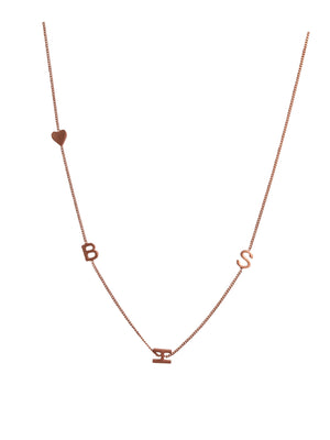 "18"" Rose gold plated necklace"