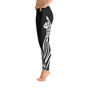 Skeleton Finger Leggings