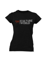 Load image into Gallery viewer, Ladies Kulture World Tee