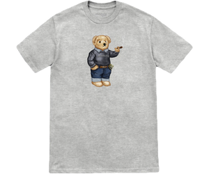 Blunt Bear H Gray T-Shirt