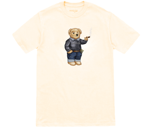 Blunt Bear Cream T-Shirt