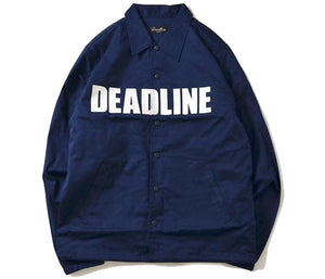 Navy Coaches Jacket
