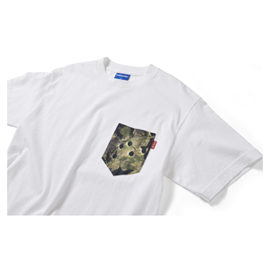 Lafayette x Deadline Chalk Line Camo Pocket Tee (White)
