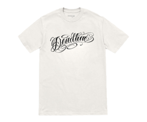 Norm Script Tee (White)