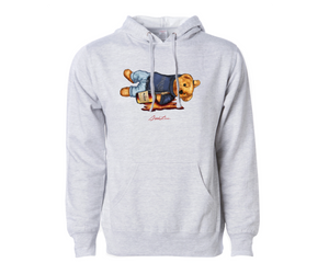 Shaded Bear Hoodie (H Gray)
