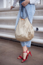 Load image into Gallery viewer, Luxury mesh bag in Gold
