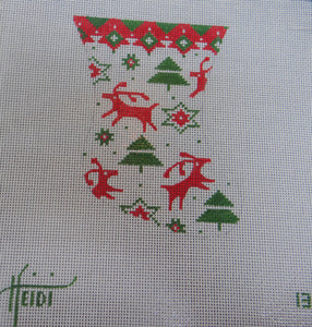 13 - Deer and Trees Stocking