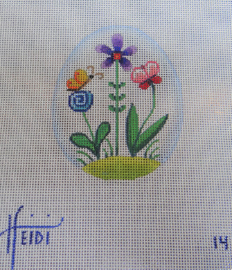 14 - Flower and Butterfly Egg