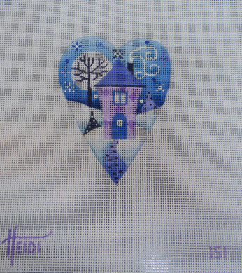 151 - Purple House Heart