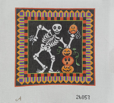 26057: Skeleton and Pumpkins