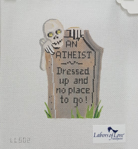 LL502-TS: Tombstone of an Atheist