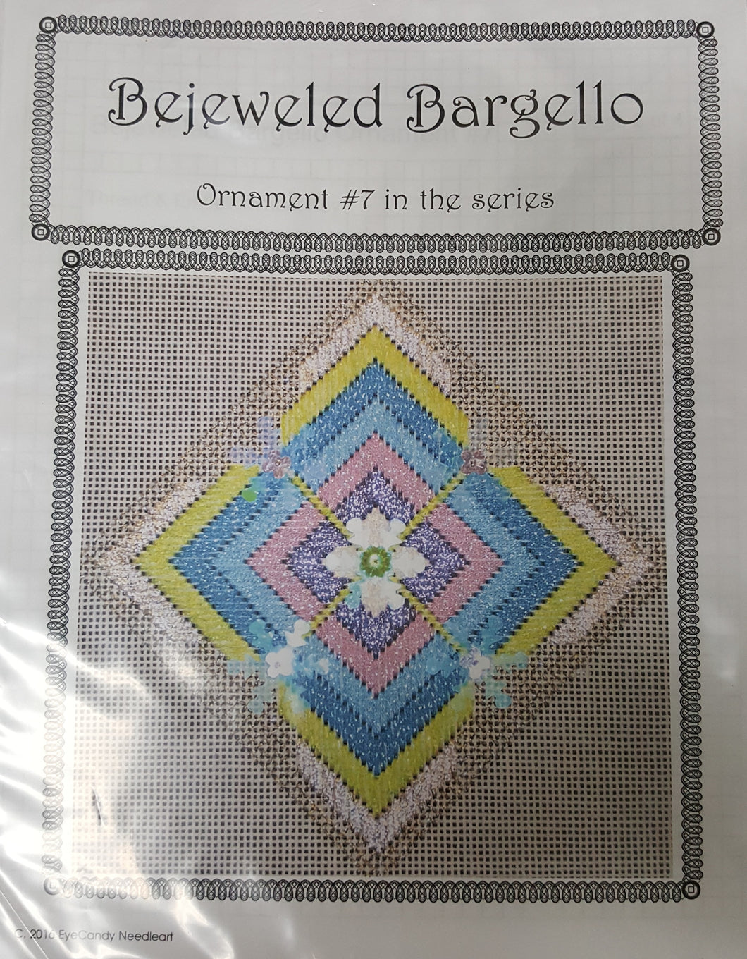 Bejeweled Bargello No. 7 18M