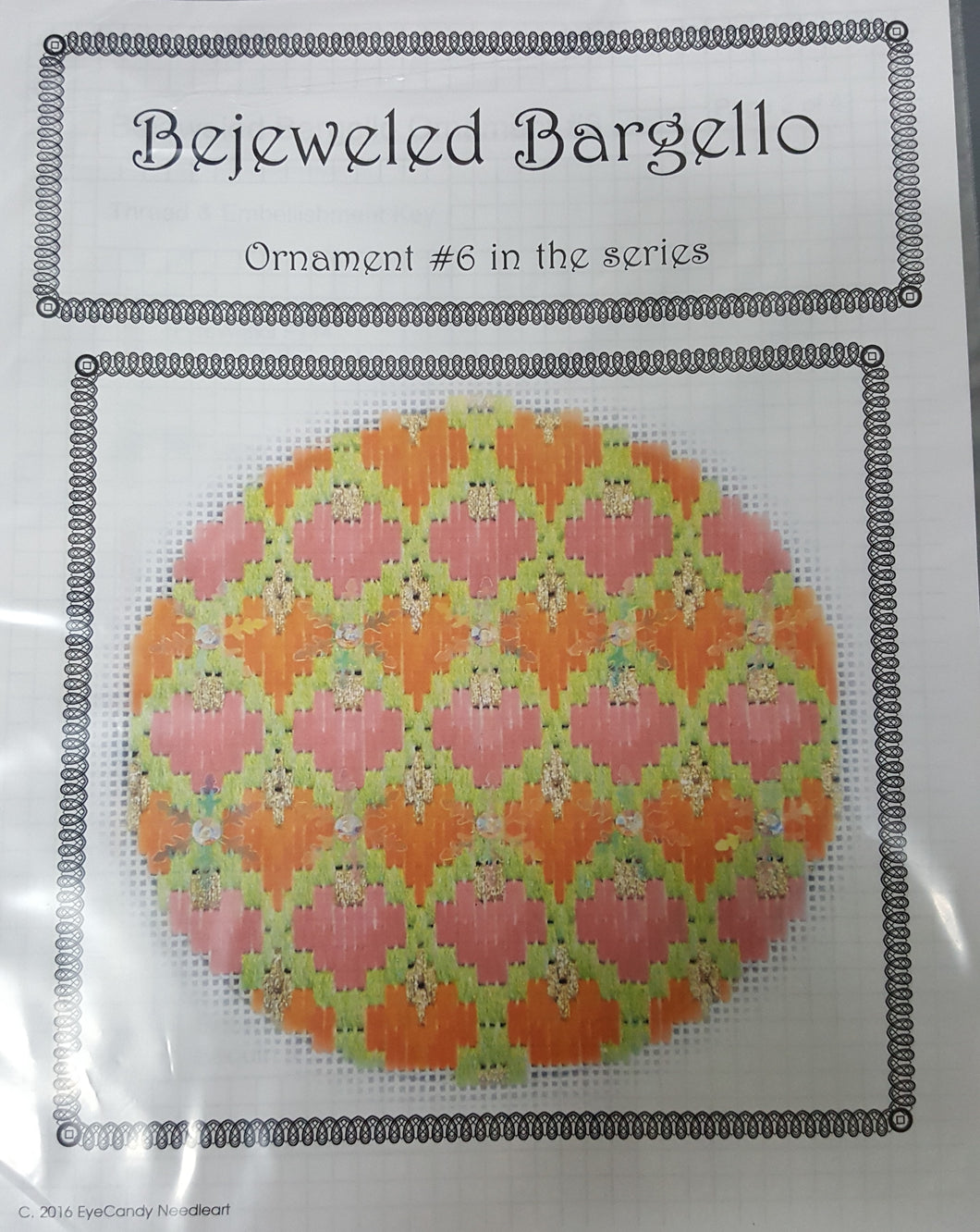 Bejeweled Bargello No. 6 18M