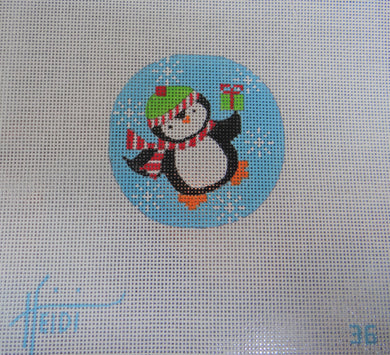 36 - Penguin with Present