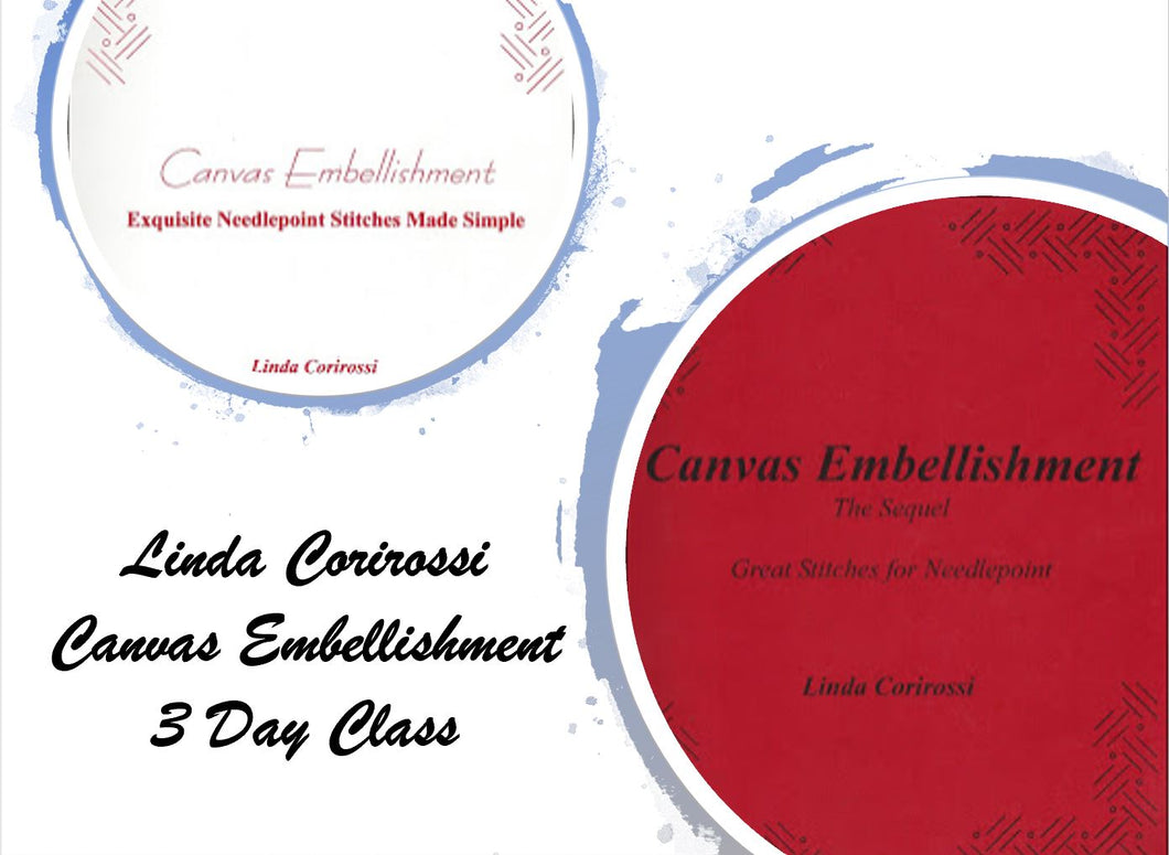 3-Day Canvas Embellishment Seminar with Linda Corirossi