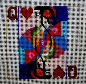 Melissa Prince Designs - Queen of Hearts (A195)
