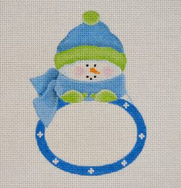 BB02 Blue Boy Snowbaby Plaque