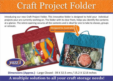 Yazzii Craft Project Folder