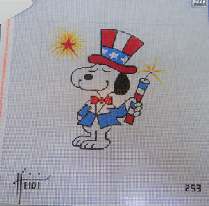 253 - Snoopy with Firecracker