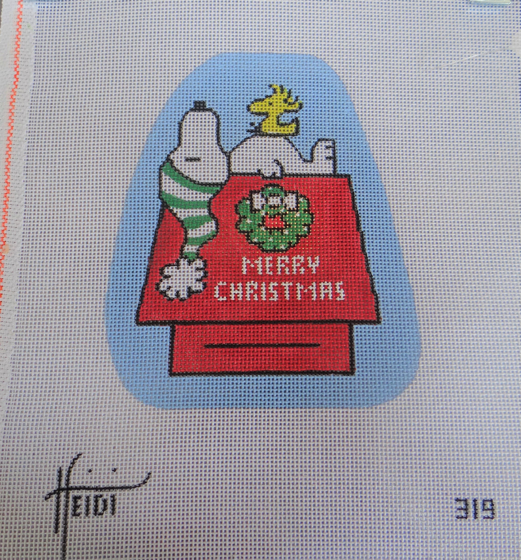 319 - Snoopy Woodstock Christmas