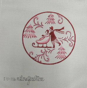 EV-X6A - Toile Couple Red Sled