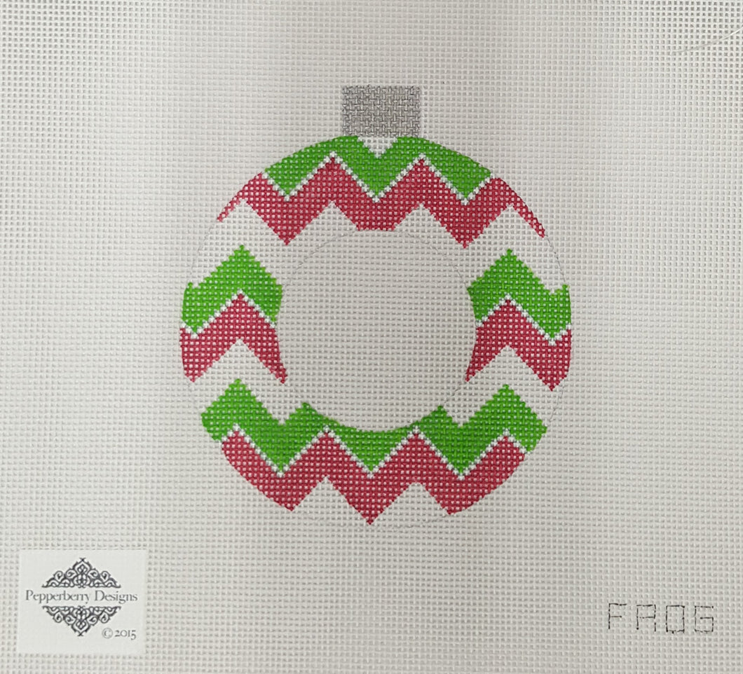 FR06 Chevron Frame Ornament