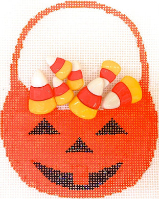 HB278 Candy Corn Basket