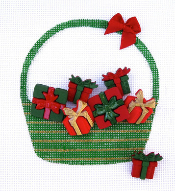 HB282B Christmas Gifts Basket