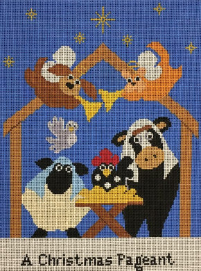 AL-0122 A Christmas Pageant Stitch Guide