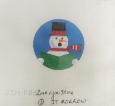 JTM-R22 - Singing Snowman Ornament