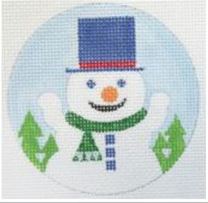 JTM-R2 - Snowman Ornament 3""