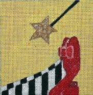Melissa Prince Designs  - Wizard of Oz Movie Coaster M125