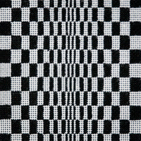 M623: Black/White Optical Illusion 18M