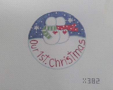 X382 Our 1st Christmas Ornament 13M