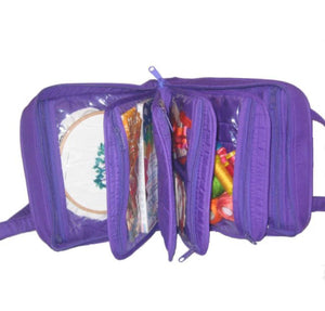 Purple - Oval Organizer (contents not included)