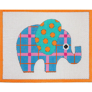 3646 Blue Patterned Elephant 13M