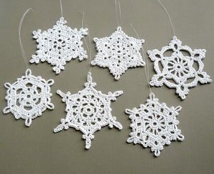 Crocheted Christmas Ornaments