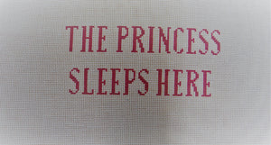 JLC-S-007 The Princess Sleeps Here