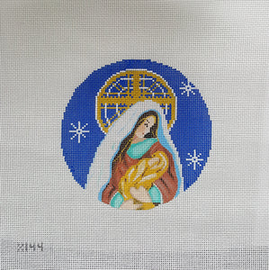 X144: Madonna and Child Ornament 13M