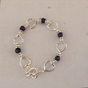 Hole in the Heart Bracelet