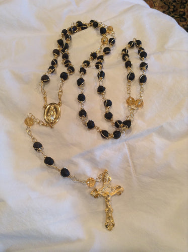Gold Rosary