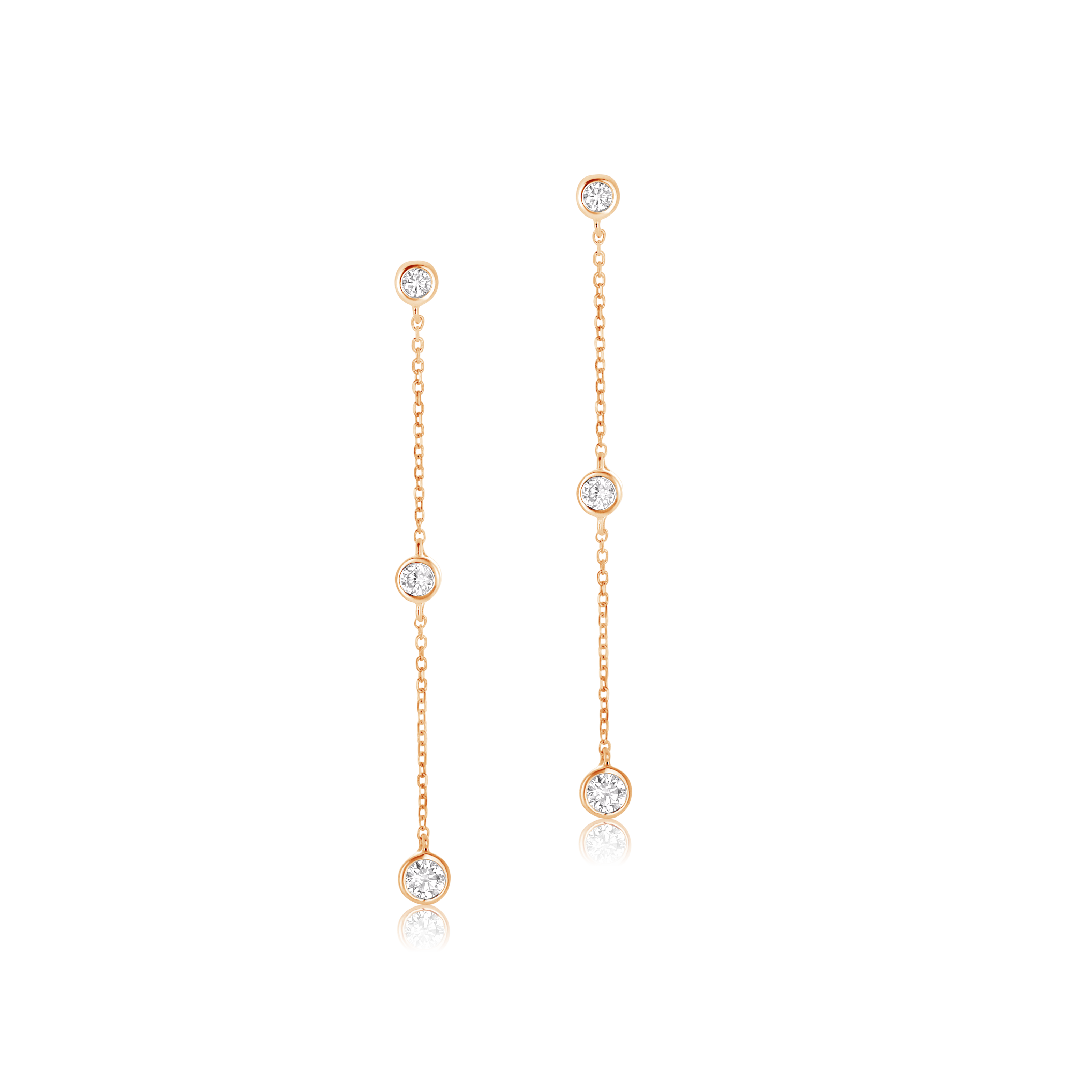 Aurora Diamond Drop Earrings