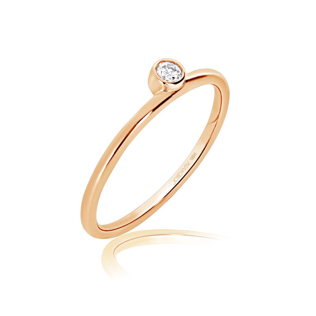 Olivia Solitaire Diamond Ring