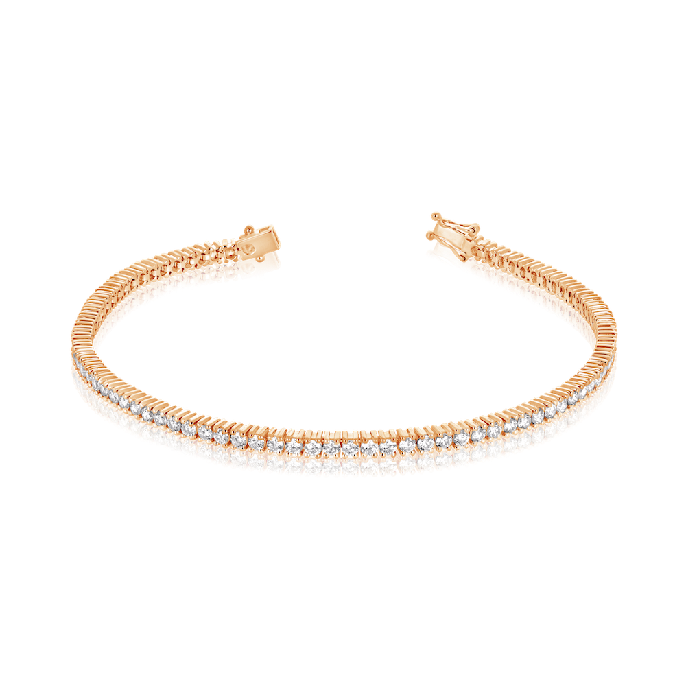 Aurora 2.5ct Diamond Tennis Bracelet