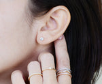 Gabriela Diamond Stud Earrings