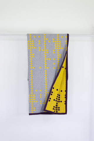 Punto Punto throw blanket - Limited edition